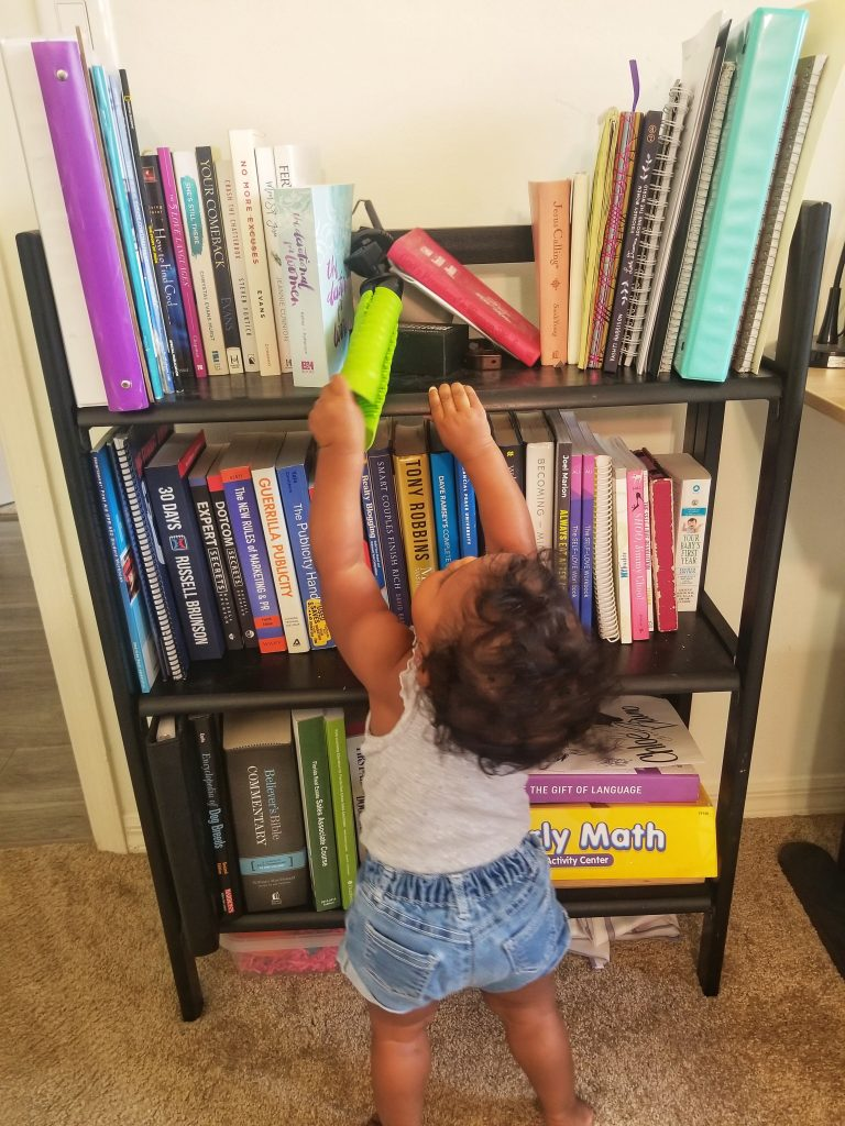 How to child proof your home office.
